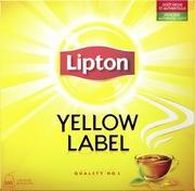 Lipton 100Ps Yellow Label Musta Tee