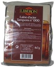 Liberon 8X7g Teräsvillatyynyt No 000