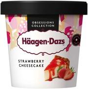 Häagen-Dazs Strawberry Cheesecake Jäätelö 460Ml/400G