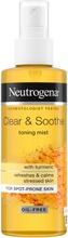 Neutrogena Clear & Soothe Toning Mist kasvovesisuihke 125 ml
