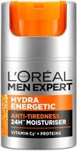 L'oréal Paris Men Expert Hydra Energetic Kasvovoide Väsymyksen Merkkejä Vastaan 50Ml