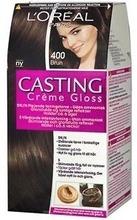L'oréal Paris Casting Crème Gloss 400 Brown Keskiruskea Kevytväri 1Kpl