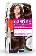 L'oréal Paris Casting Crème Gloss 515 Chocolate Truffle Vaaleanruskea Tuhka Mahonki Kevytväri 1Kpl