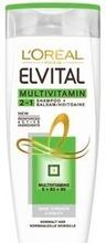 L´Oréal Paris Elvital Multivitamin 2In1 Shampoo Ja Hoitoaine Normaaleille Hiuksille 400Ml