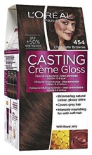 L'oréal Paris Casting Crème Gloss 454 Chocolate Brownie Kuparinen Mahonginruskea Kevytväri 1Kpl