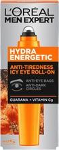 L'oréal Paris Men Expert Hydra Energetic Silmänympärys-Roll-On Väsyneille Silmille 10Ml