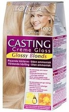 L'oréal Paris Casting Crème Gloss Glossy Blonds 1010 Light Iced Blonde Kirkas Tuhkanvaalea Kevytväri 1Kpl