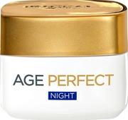 L'oréal Paris Age Perfect Night Kosteuttava & Kiinteyttävä Yövoide Ikääntyvälle Iholle 50Ml