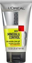 L'oréal Paris Studio Line Mineral&Control Invisi Cleangel Ultravoimakas Muotoilugeeli, 8/10 150Ml