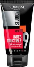 L'oréal Paris Studio Line Indestructible Gel 48H Extreme Gel Ultravoimakas Hiusgeeli, 9/10 150Ml