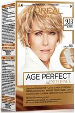 L'oréal Paris Age Perfect By Excellence 9.13 Light Beige Blonde Vaalea Beige Kestoväri 1Kpl