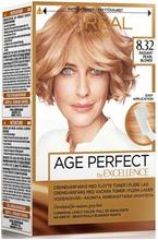 L'oréal Paris Age Perfect By Excellence 8.32 Radiant Pearl Blonde Keskivaalea Helmiäiskulta Kestoväri