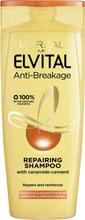 L'Oréal Paris Elvital Anti-Breakage shampoo kuiville ja katkeileville hiuksille 250ml