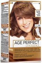 L'oréal Paris Age Perfect By Excellence 5.03 Warm Natural Brown Lämmin Ruskea Kestoväri 1Kpl