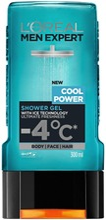 L'oréal Paris Men Expert Cool Power Suihkugeeli 300Ml