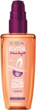 L'oréal Paris Elvital Dream Length Frizz Killer Serum Silottava Hiusseerumi Lämpösuojalla 100Ml