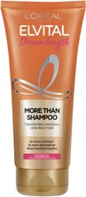 L'oréal Paris Elvital Dream Length More-Than-Shampoo Syvähoitava Shampoo Pitkille, Vaurioituneille Hiuksille 200Ml