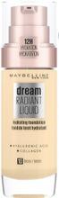 Maybelline New York Dream Radiant Liquid 010 Ivory Meikkivoide 30Ml