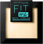 Maybelline New York Fit Me Matte   Poreless 115 -Puuteri 9G