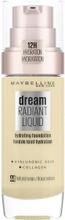 Maybelline New York Dream Radiant Liquid 44 Natural Beige Meikkivoide 30 Mlt