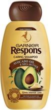 Garnier Respons Avocado Shea Hoitava Shampoo Kuiville Ja Vaurioituneille Hiuksille 250Ml