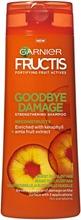 Garnier Fructis Goodbye Damage Shampoo Vaurioituneille Ja Elottomille Hiuksille 250Ml
