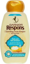 Garnier Respons Argan Richness Shampoo Erittäin Kuiville Ja Vaikeasti Hallittaville Hiuksille 250Ml