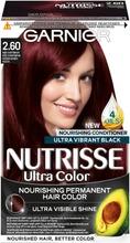 Garnier Nutrisse 2.60 Ultra Color Kirsikkainen Musta Kestoväri 1Kpl