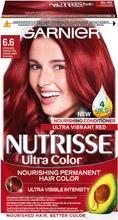Garnier Nutrisse 6.60 Ultra Color Intensiivinen Punainen Kestoväri 1Kpl