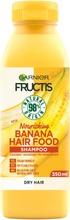 Garnier Fructis Hair Food Banana Shampoo Kuiville Hiuksille 350Ml