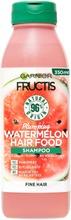 Garnier Fructis Hair Food Watermelon Shampoo Hennoille Hiuksille 350Ml