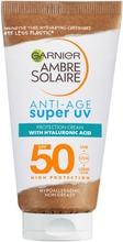 Garnier Ambre Solaire Anti-Age Super Uv Aurinkosuojavoide Sk50 50Ml