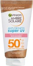 Garnier Ambre Solaire Anti-Dryness Super Uv Aurinkosuojavoide Sk50  50Ml