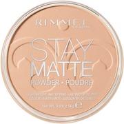 Rimmel 14G Stay Matte Pressed Powder Kivipuuteri 005 Silky Beige