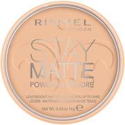 Rimmel 14G Stay Matte Pressed Powder Kivipuuteri 006 Warm Beige