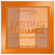 Rimmel Lasting Radiance Finishing Powder -Puuteri 8G, 002 Honeycomb