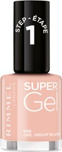 Rimmel Super Gel 008 Girl Group Blush Kynsilakka 12 Ml