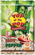 Top Of The Pop 100G Mikropopcorn Chilin Makuinen