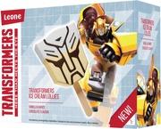 Transformers Vanilja-Valkosuklaa Jäätelöpuikot 4X60ml/4X35g