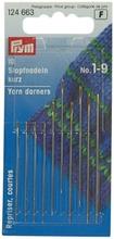 Prym parsinneula, lajitelma