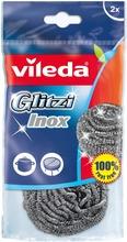 Vileda Glitzi Inox Teräshankaussieni 2 Kpl