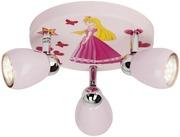 Brilliant Princess Led Kattospotti 3-Osainen Pinkki