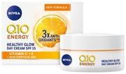 Nivea 50Ml Q10 Energy Healthy Glow Day Care  -Päivävoide