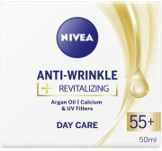 Nivea 50Ml Anti-Wrinkle   Revitalizing Day Care 55  -Päivävoide