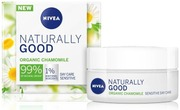 Nivea 50Ml Naturally Good Sensitive Day Care -Päivävoide
