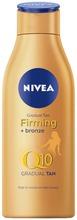 Nivea 200Ml Q10 Firming +Bronze Body Lotion -Vartaloemulsio