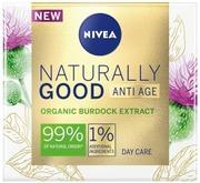 Nivea 50Ml Naturally Good Firming Day Cream -Päivävoide