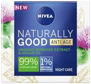 Nivea 50Ml Naturally Good Firming Night Cream -Yövoide