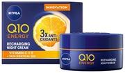 Nivea 50 Ml Q10 Energy Recharging Night Cream -Yövoide
