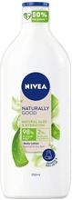 Nivea 350Ml Naturally Good Aloe Vera Body Lotion -Vartaloemulsio